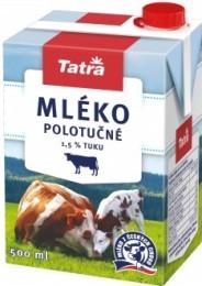 Tatra Trvanlivé mléko polotučné 1,5%