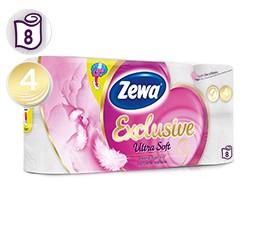 Zewa Ultra Soft toaletní papír 4 vrstvý, 8ks