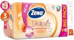 Zewa Deluxe Cashmere Peach toaletní papír 3 vrstvý, 16ks