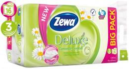 Zewa Deluxe Camomile Comfort toaletní papír 3 vrstvý, 16ks