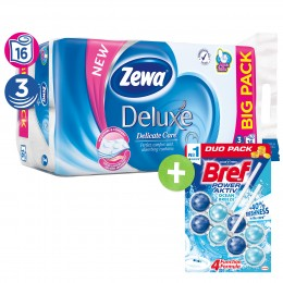 Zewa Deluxe Delicate Care toaletní papír 3 vrstvý, 16ks