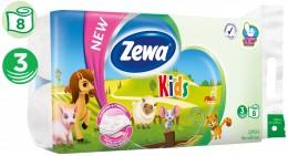 Zewa Kids toaletní papír 3vr., 8ks
