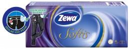 Zewa Softis Standard papírové kapesníky 4vrstvé 10x10ks