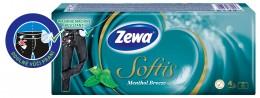 Zewa Softis Menthol Breeze papírové kapesníky 4vrstvé 10x9ks