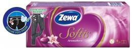 Zewa Softis Aromathera papírové kapesníky 4vrstvé 10x9ks
