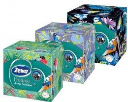 Zewa Deluxe Aroma Collection papírové kapesníky 3vrstvé box 60ks