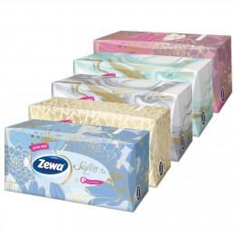 Zewa Softis Style Box papírové kapesníky 4vrstvé 80ks