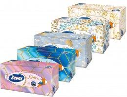 Zewa Softis Style Box papírové kapesníky 4vrstvé box 80ks