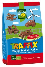 PROBIO Keksy špaldovo – čokoládové pro děti AUTÍČKA