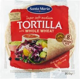 Santa Maria Tex Mex Tortilla placky z celozrnné mouky 20cm 8ks