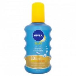 Nivea Sun Protect & Refresh Neviditelný sprej na opalování OF 10