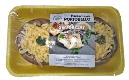 """Houbový steak   """"Portobello s Čedarem""""  2ks, balení"""