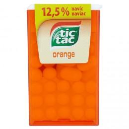 Tic Tac s pomerančovou příchutí