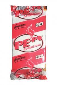 PE-PO pevný podpalovač, 40 podpalů