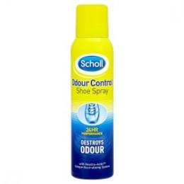 Scholl Deodorační sprej do bot s antibakteriálním účinkem