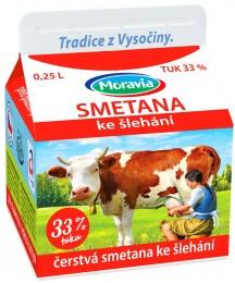 Moravia Čerstvá smetana ke šlehání 33 %