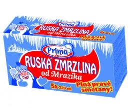 Prima Ruská zmrzlina Multipack. 5x220ml,