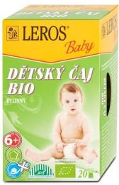 LEROS Baby BIO Dětský čaj bylinný