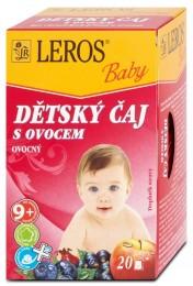 LEROS Baby  Dětský čaj s ovocem