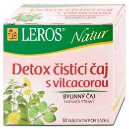 LEROS Natur  Detox čistící čaj