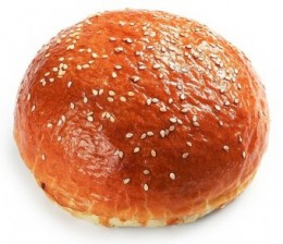 Pekárna Kabát Hamburgerová bulka sezam