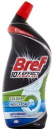 Bref 10xEffect Power Gel Anti Limescale WC čistič