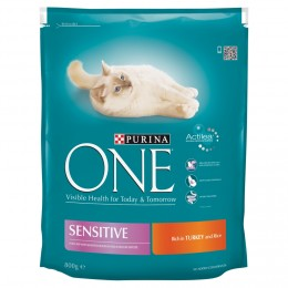 Purina ONE Sensitive s krůtím a rýží