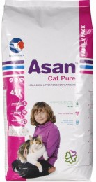 Asan Cat Pure eko-stelivo pro kočky a fretky