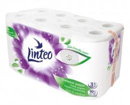 Linteo toaletní papír bílý 3vr. 16ks