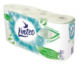 Linteo toaletní papír zelený 3vr. 8ks