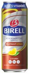 Birell polotmavý citron plech