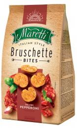 Maretti Bruschetty s příchutí salám pepperoni