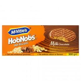 McVitie's HobNobs Ovesné sušenky máčené v mléčné čokoládě