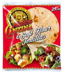 Antica Cantina Wrap Tortillas 25cm 6ks