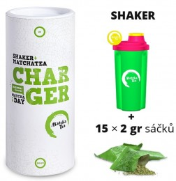 "Matcha Tea Charger ""dámský"" šejkr + čaj"