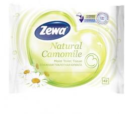 Zewa Natural Camomile vlhčený toaletní papír 42ks