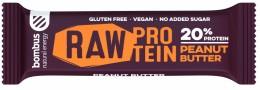Bombus natural energy protein - peanut butter tyčinka