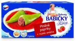 Nowaco Plněná paprika srajskou omáčkou