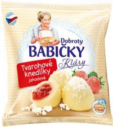 Dobroty babičky Kláry - Tvarohové knedlíky jahodové