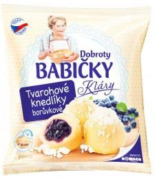 Dobroty babičky Kláry -  Tvarohové knedlíky borůvkové