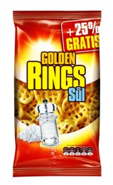Golden snack Golden Rings solené