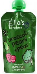 Ella's Kitchen kapsička brokolice, hruška a hrášek