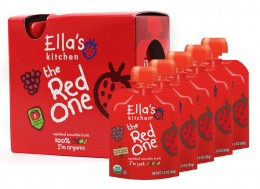 Ella's Kitchen Ovocné pyré - Red One (Jahoda) PACK 5ks