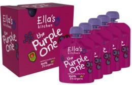Ella's Kitchen Ovocné pyré - Purple One (Borůvka) PACK 5ks