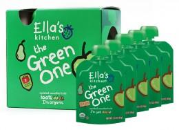 Ella's Kitchen Ovocné pyré - Green One (Jablko) PACK 5ks