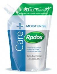 Radox Feel Moisturised tekuté mýdlo náhradní náplň