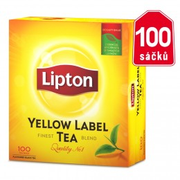 Lipton Yellow label čaj 100 sáčků