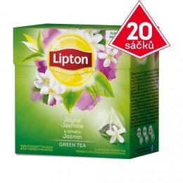 Lipton Zelený čaj jasmínový 20 sáčků