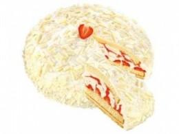 Coppenrath & Wiese Pannacotta jahodový dort kopule (mražený)
