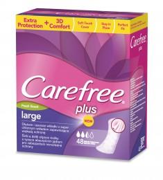 Carefree Plus Large fresh slipové vložky 48 ks